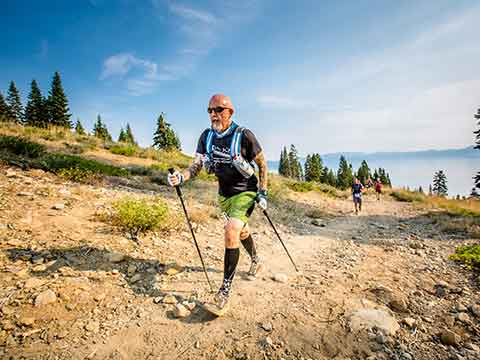 Tom Mitchell Ran the Tahoe 200 for 200 Kids With Cancer