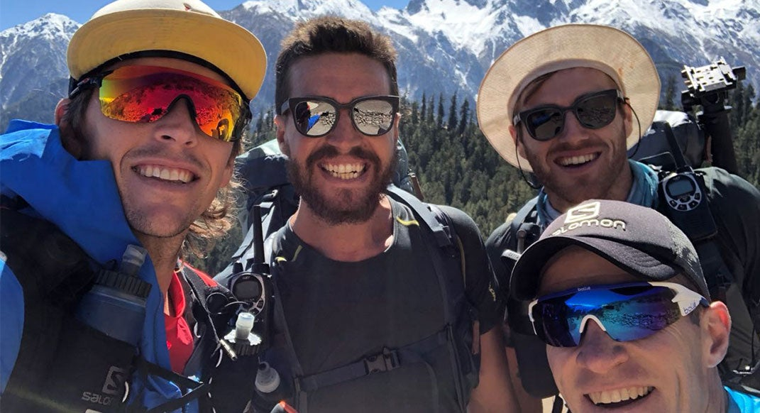Ryan Sandes and Ryno Griesel Start Their Great Himalaya Trail FKT Attempt