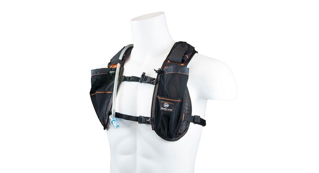 Hydration trail-running vest