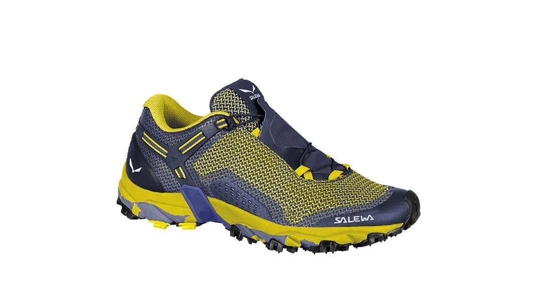 Springtime trail running shoe