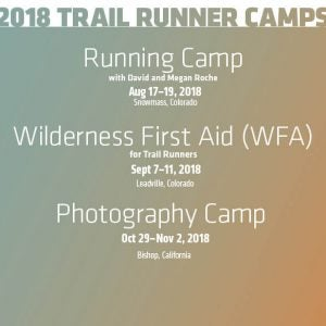 2018 Camps with Trail Runner Magazine