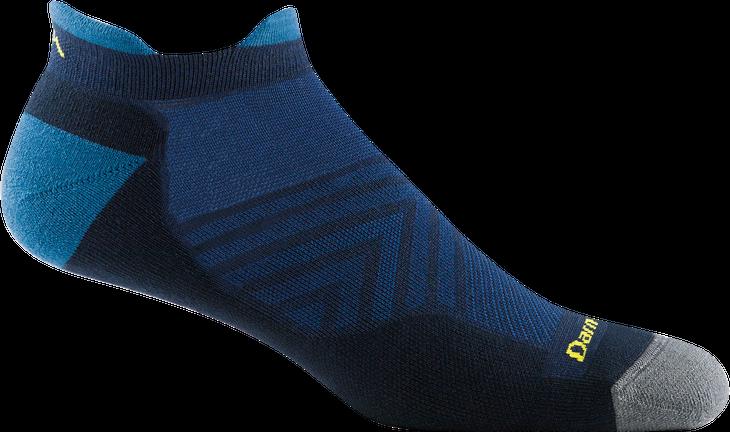 Mens Run No Show Tab Ultra Lightweight Sock Eclipse Hágalo todo con la alineación 2021 de Darn Tough Vermont